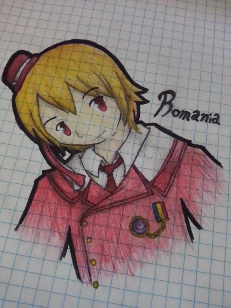 Hetalia Romania[1] by 0GamerEevee0