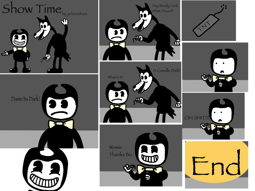 bendy and the ink machine comics