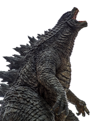 Legendary Godzilla Transparent Ver.3! by Jacksondeans