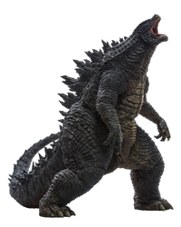 Legendary Godzilla Transparent Ver.4! by Jacksondeans