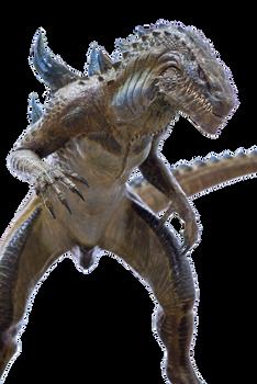 Godzilla 1998(Zilla) Transparent Ver.4!
