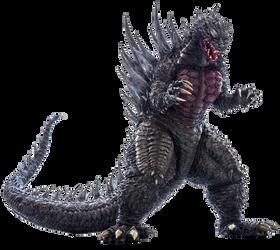 Godzilla 2004 (Concept Ver.) Transparent Ver.6!