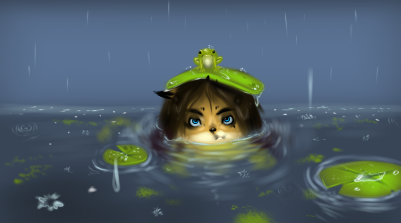 The Frog Pond by AuldBlue