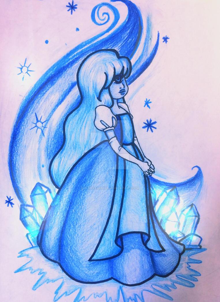 My interpretation of Sapphire from Rebecca Sugar's Steven Universe.