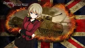 Girls und Panzer Wallpaper - Darjeeling