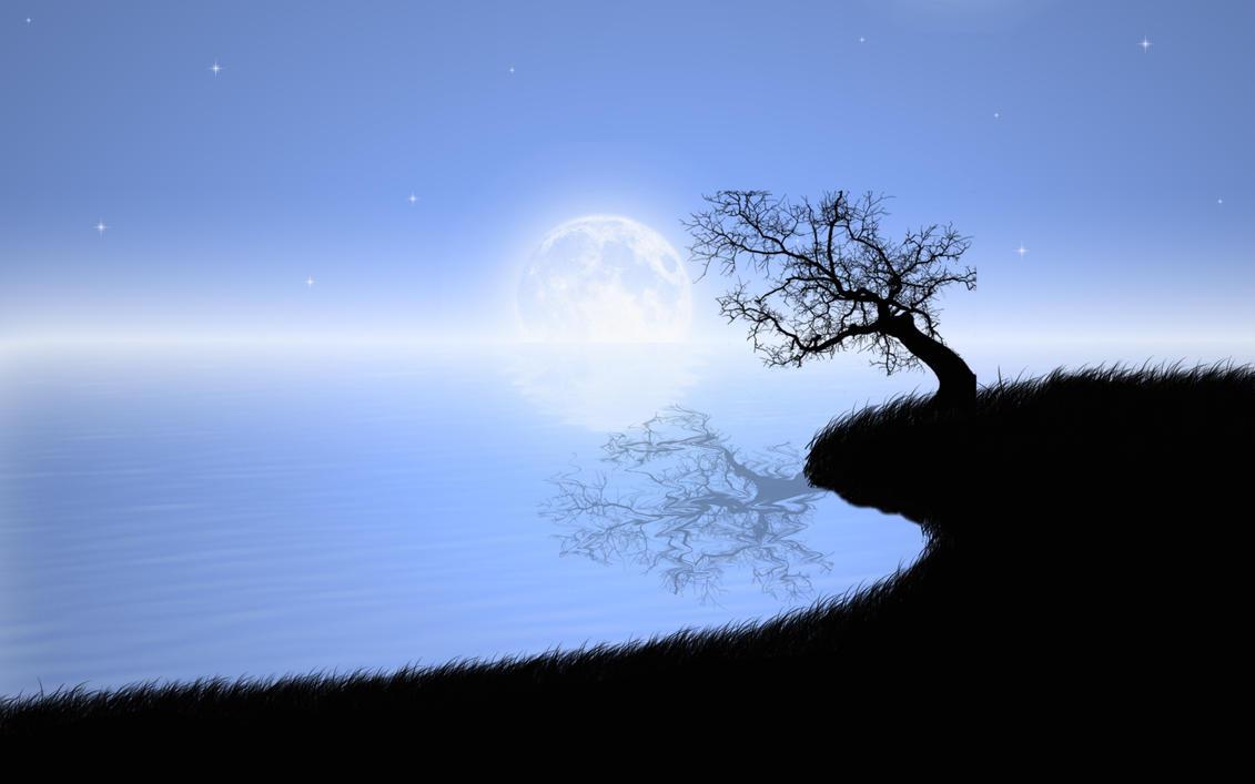 Quiet Moonlight by dimage