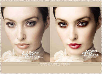Makeup by s3cretlady