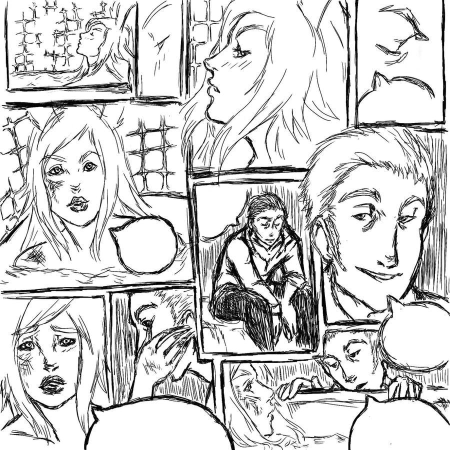 ffxii comic by eloelay