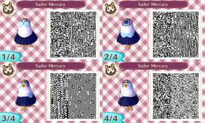 Sailor Mercury acnl qr code by Pink0Fish