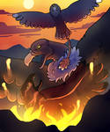 Dawn of Fire - Gryph Attack