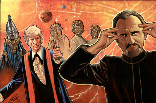 Doctor Who 3rd, and the Master