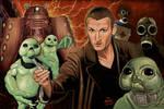 Christopher Eccleston Dr Who 9