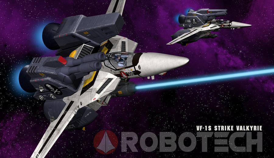 Robotech Strike Veritech II by mikenap22