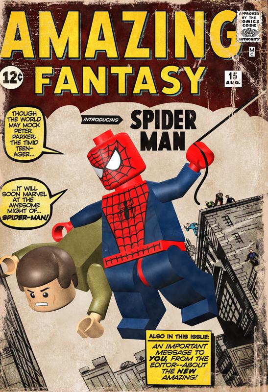 Lego Amzing Fantasy#15 by mikenap22