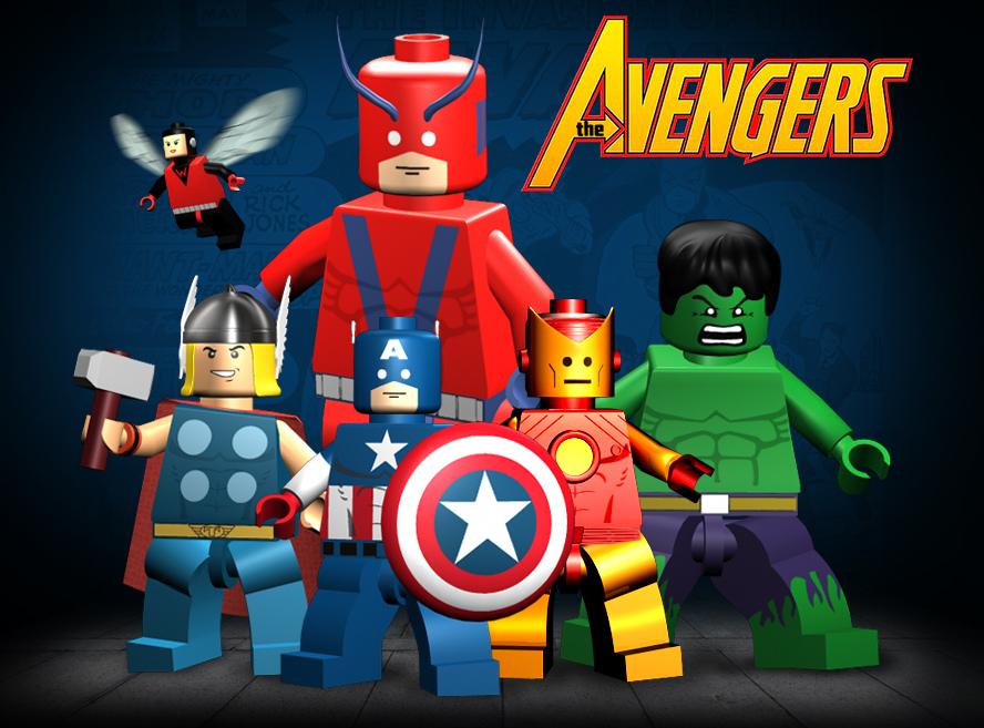 Lego Batman Ausmalbilder Inspirierend Avengers: Lego Avengers By Mikenap22 On DeviantArt