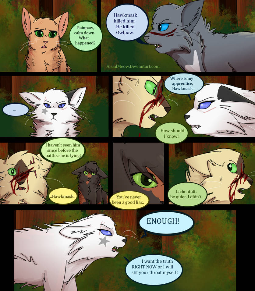 The Recruit- Pg 138 by ArualMeow