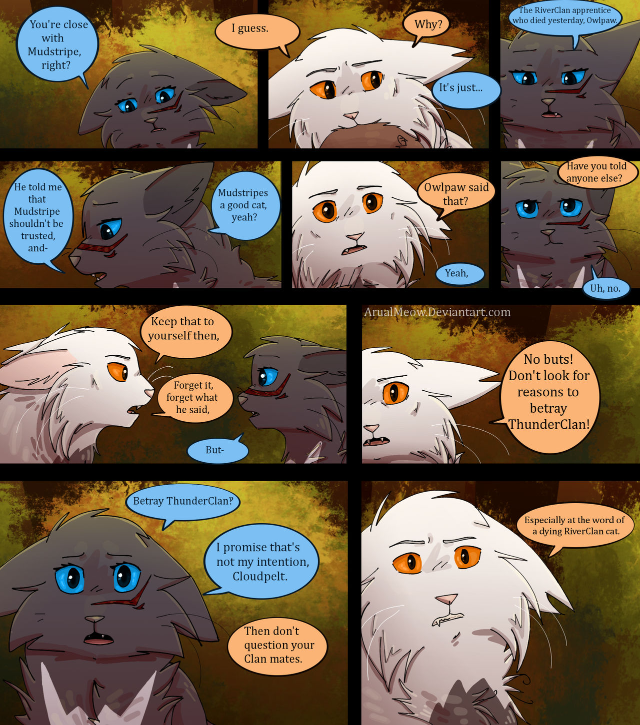 The Recruit- Pg 152 by ArualMeow