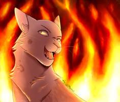 I wanna watch the world burn!