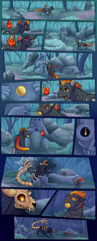 Fanning of Flames- Prologue page 1 (Commission)