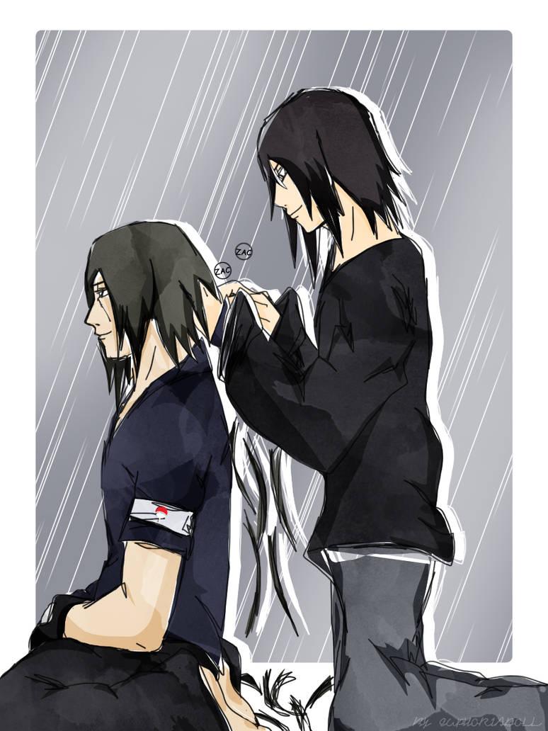 Sasuke And Itachi Haircut By Euphoriadoll On Deviantart