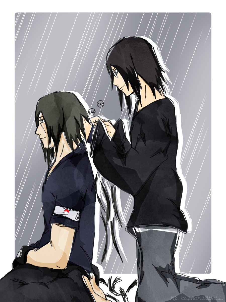 Sasuke And Itachi Haircut By Euphoriadoll On Deviantart
