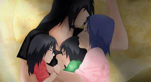 ItachixKonan - Sleeping family