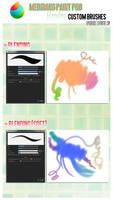 Medibang Paint Pro: Blending custom brushes