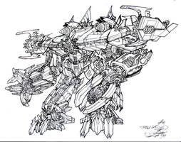 Movie concept Shockwave lines by AcidWing