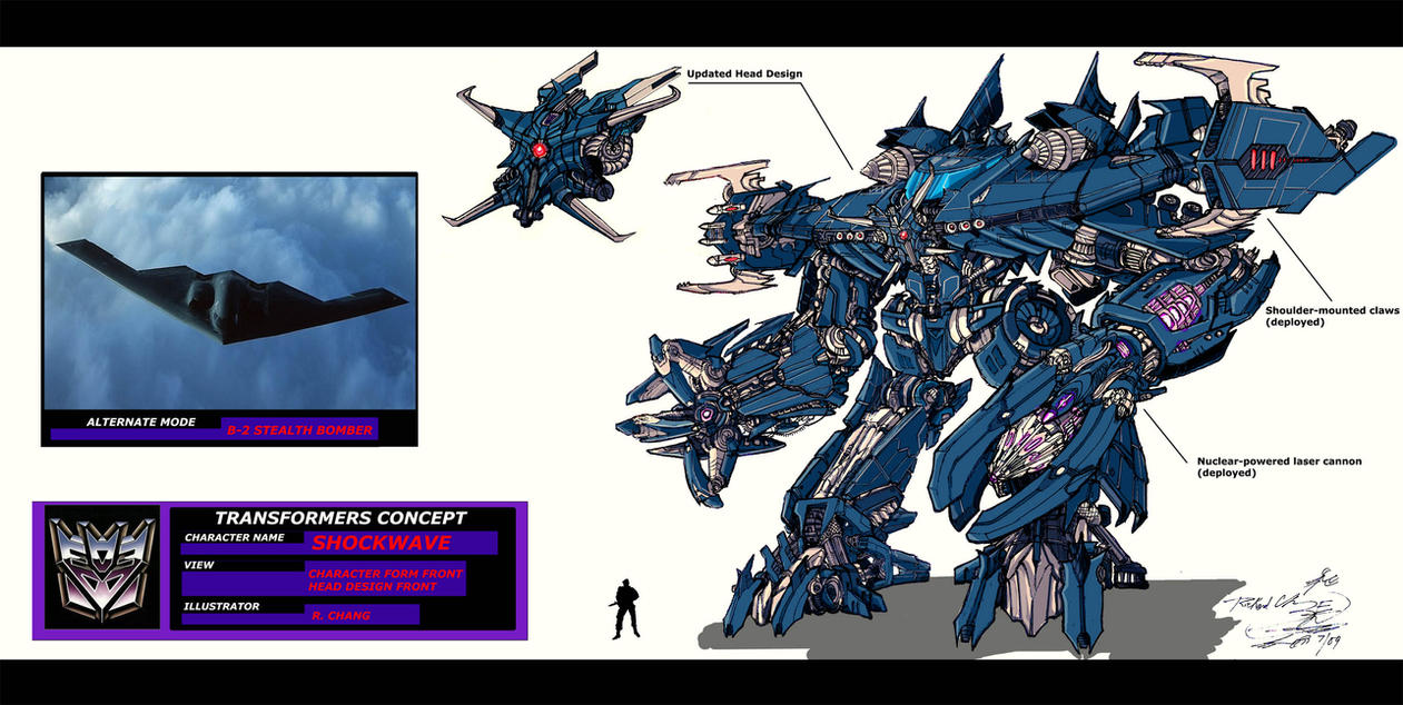 Giant Shockwave Concept Art