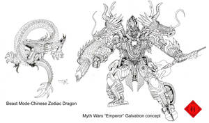 Myth Wars Galvatron concept