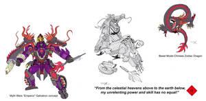 Myth Wars Galvatron colors