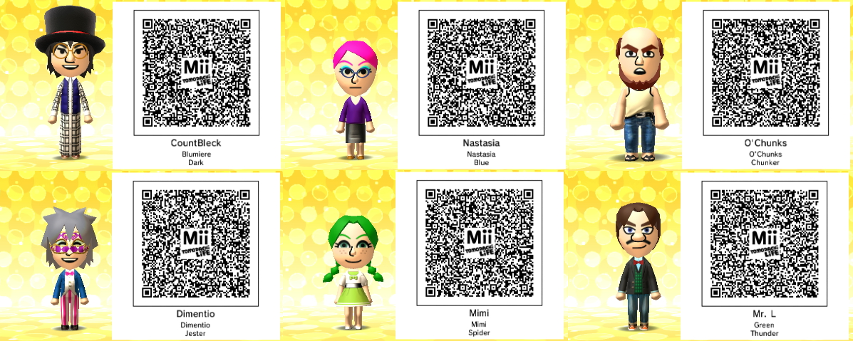 Daisy Mii Qr Code Tomodachi Life: Super Paper Mario Tomodachi Life QR Codes By