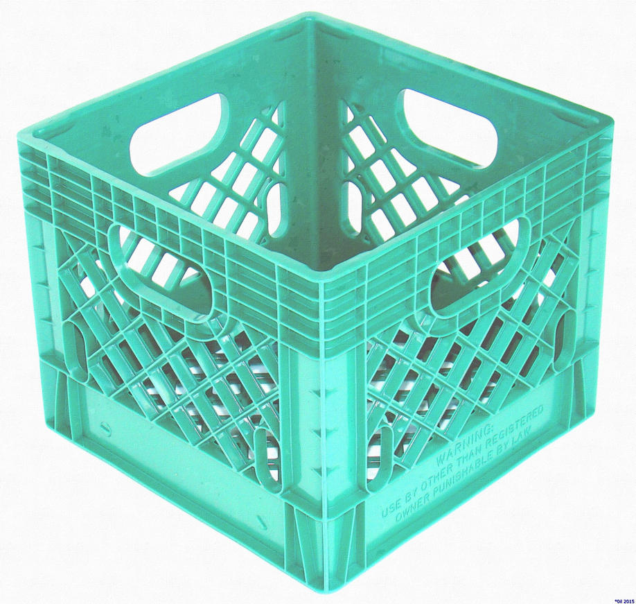 Milk Crate by JQuangTrung