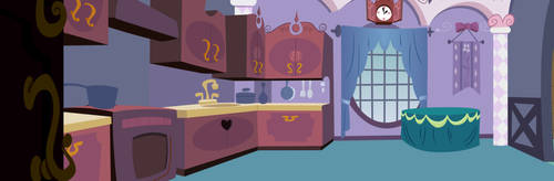 Rarity's Kitchen by CloudshadeZer0
