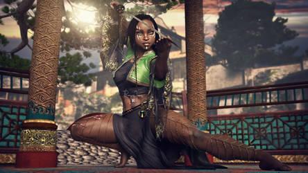 Issa - The Dragon Warrior by rhayvenj