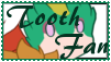 Tooth Fan Stamp by Ask-RotG