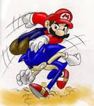 Sonic VS. Mario 8D