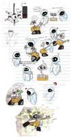 Wall e Eve AUTO doodlepageness