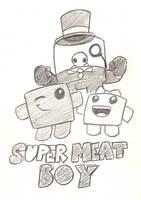 Super Meat Boy by Mickeymonster