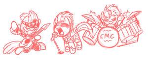 CMC concert doodle
