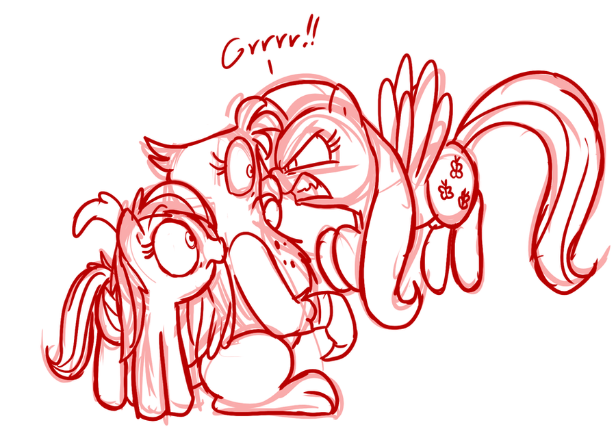 Show Gilda Your War Face by Mickeymonster