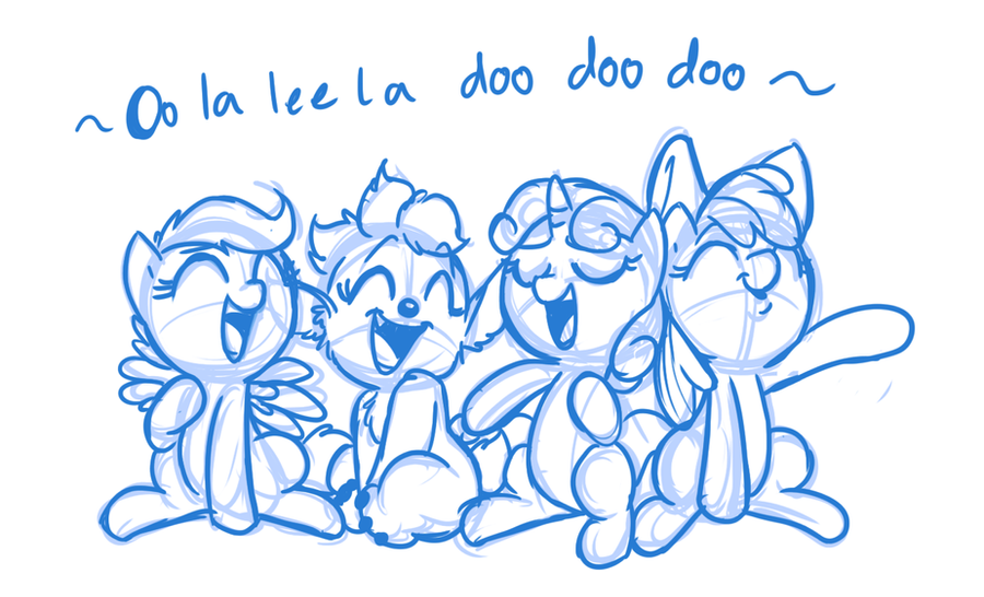 Oo La Lee La Doo doo doo by Mickeymonster