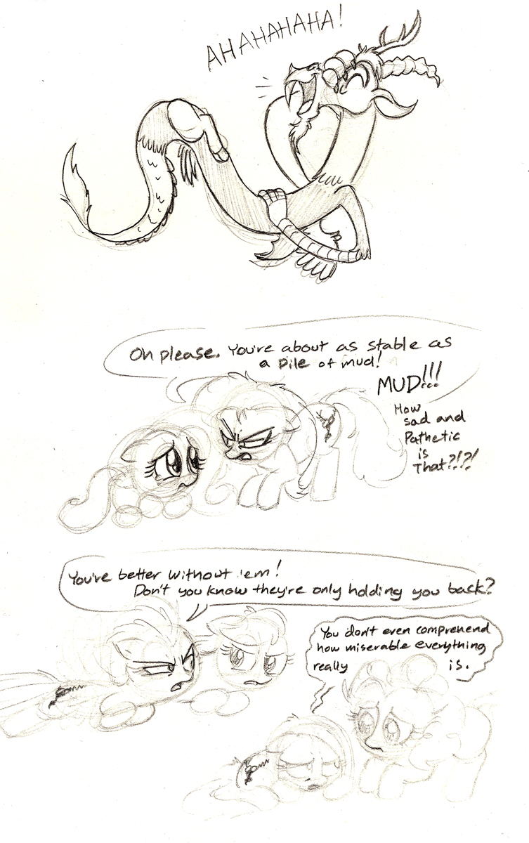 Elements of Disharmony In Action by Mickeymonster