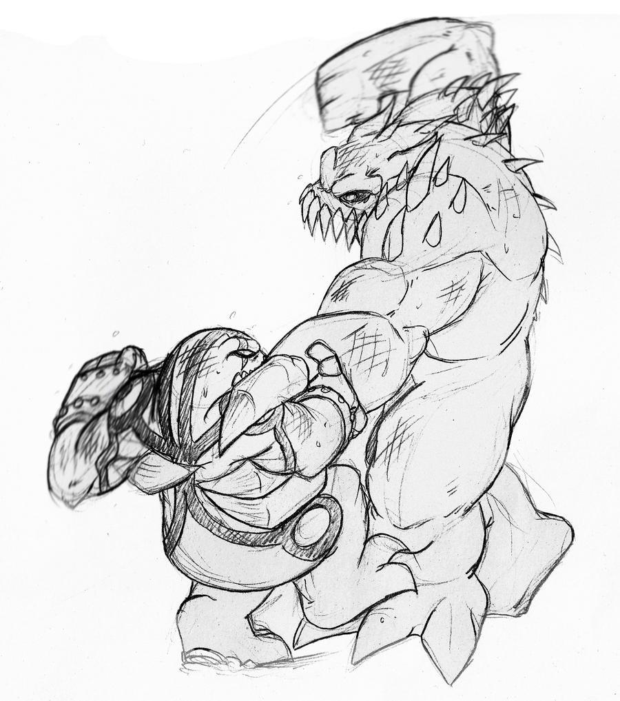 Mutant Zombie by TheNork on DeviantArt