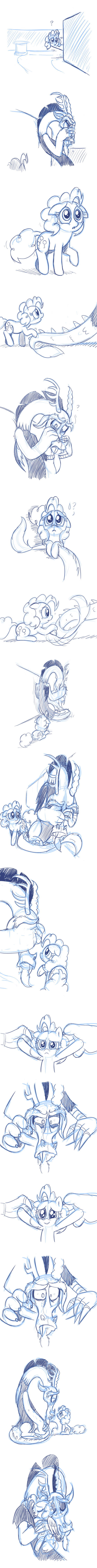 Cheering up Discord by Mickeymonster
