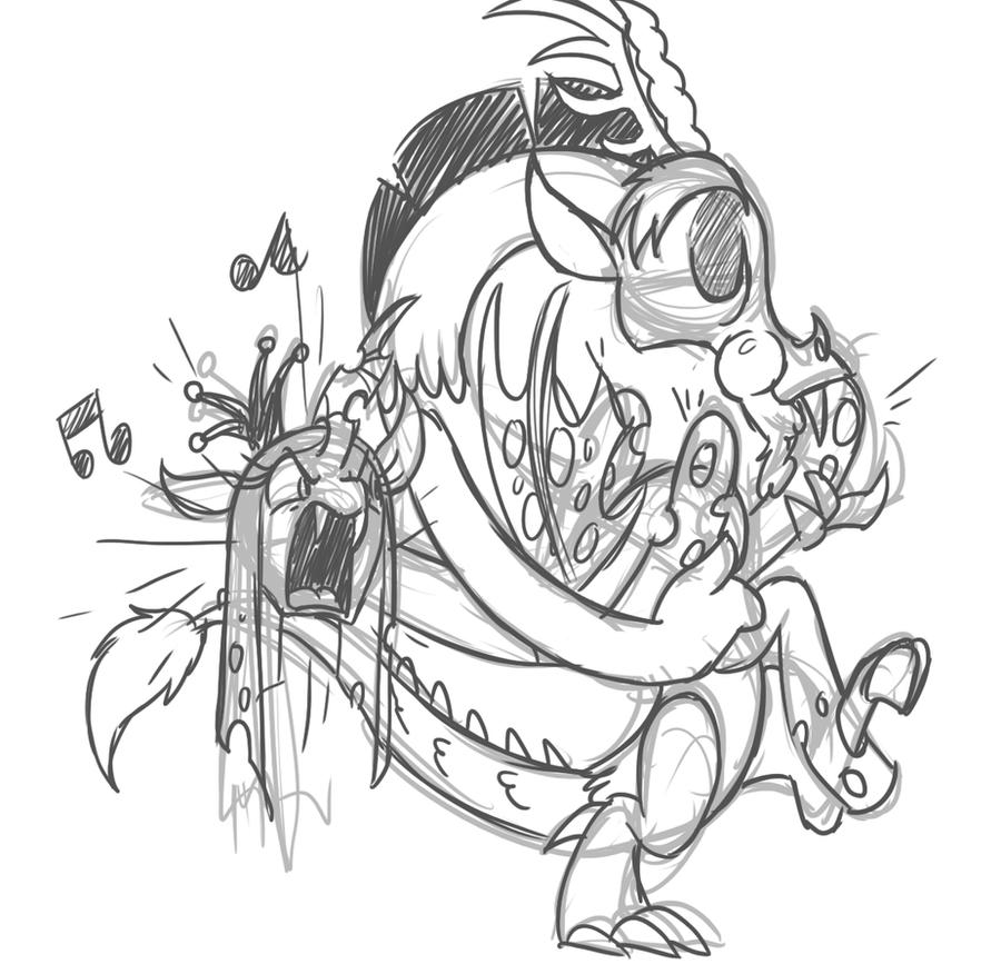 Chrysalis Is Best Bagpipe by Mickeymonster