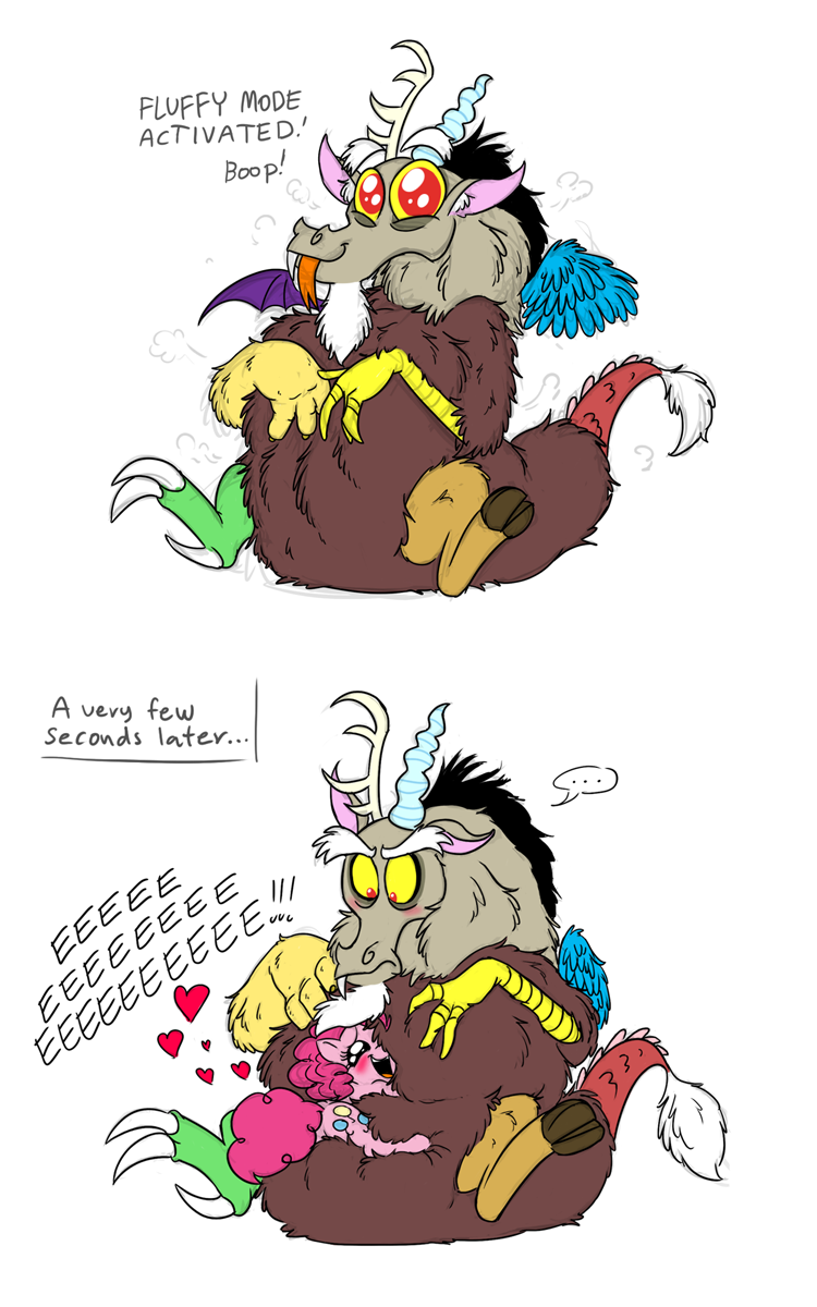 HE'S SO FLUFFEH by Mickeymonster
