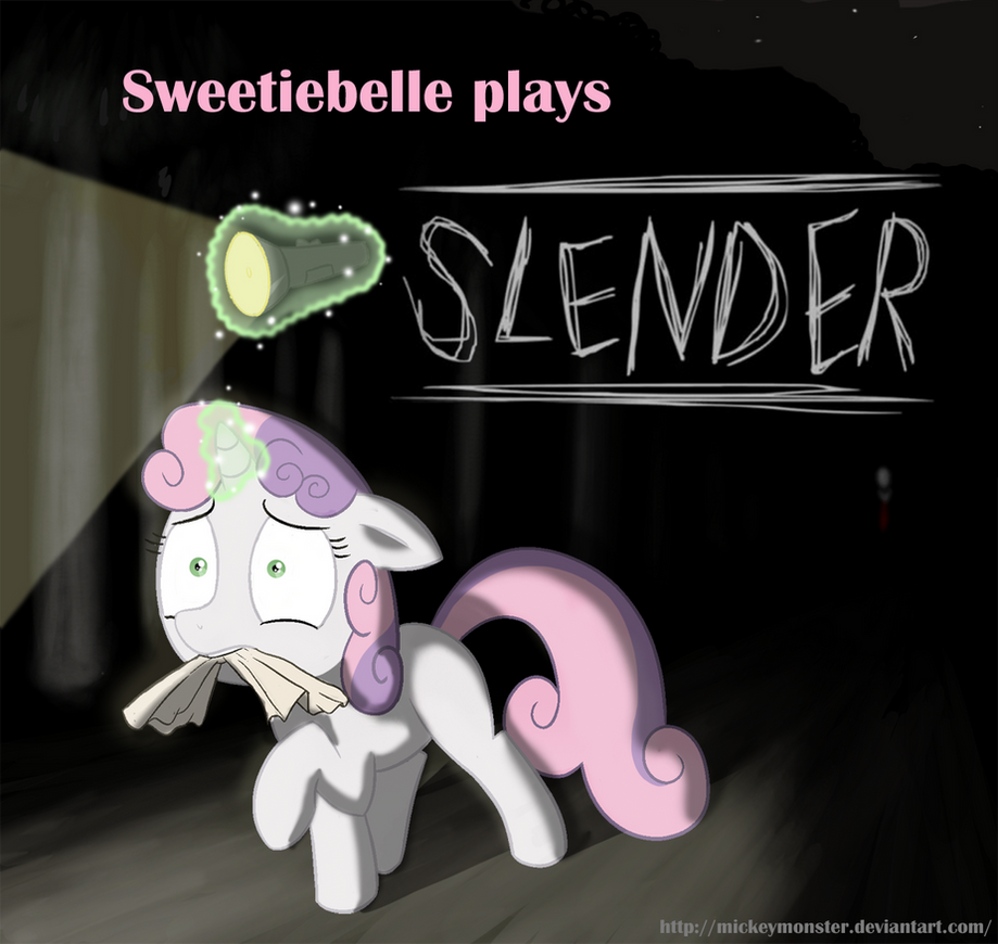 Sweetiebelle plays Slender by Mickeymonster