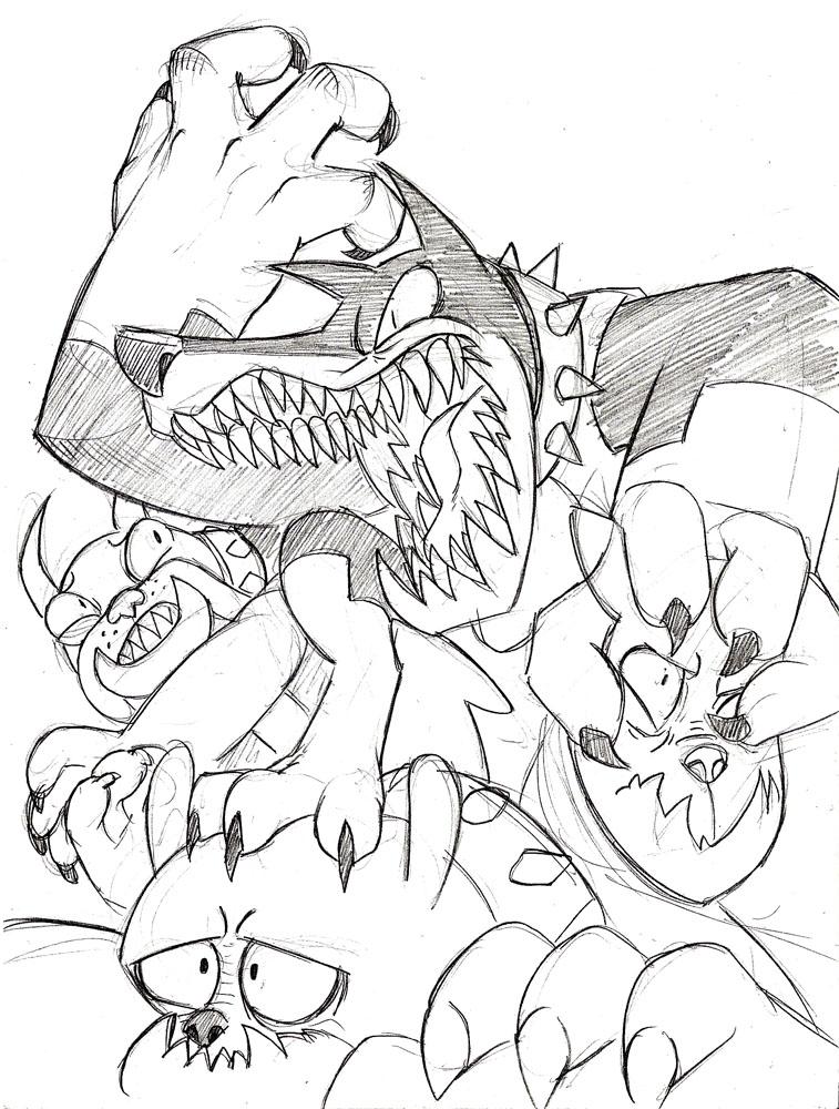 Diamond Fury by Mickeymonster