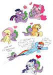 Spike on a Kissing Spree